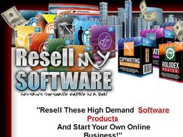 Go to: Brand New Software Pack To Resell!