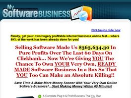 Go to: My Software Business - Your Very Own Software Business!