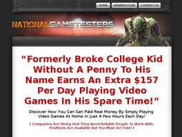 Go to: National Game Testers