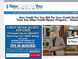 Go to: New Credit For You Now Pays $29.50 A Sale!