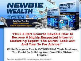 Go to: Brand New Newbie Wealth System Video Training - Earn 65% Commissions!
