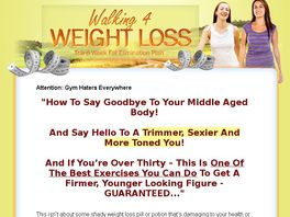 Go to: Walking Weight Loss - Ideal For Diet & Weight Loss List Owners