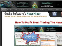 Go to: Newsminer, Trade The News!