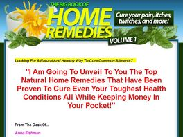 Go to: Book Of Natural Home Remedies