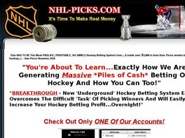Go to: Nhl Hockey Pro Selections