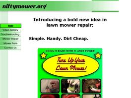 Go to: Tune Up Your Lawn Mower!