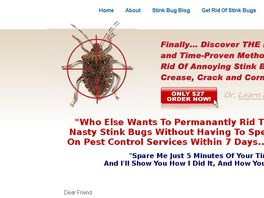 Go to: Getting Rid Of Stink Bugs
