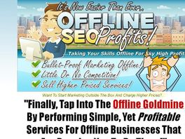 Go to: Offline SEO Profits - Affiliates Earn 50% Commissions!