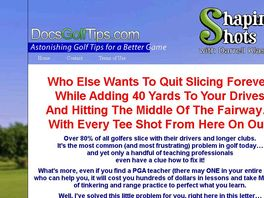 Go to: Controlling Your Golf Shot Video Download