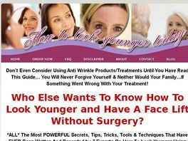 Go to: How To Look Younger Today With A Non Surgical Face lift...That Works!