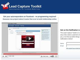 Go to: Lead Capture Toolkit - Monthly Membership Commissions!