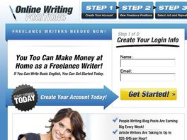 Go to: Online Writing Positions