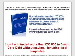 Go to: UK How I Cleared 50,000+ Pound Credit Card Debt Using Legal Loopholes