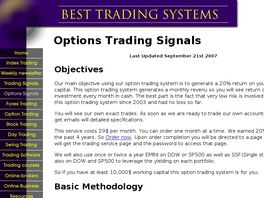 Go to: Options Trading Service Generating 20% Plus A Year With Montly Revenue.