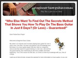 Go to: Bass Guitar Secrets