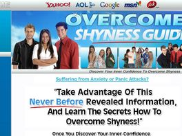 Go to: Overcome Shyness Guide - CB Best Seller