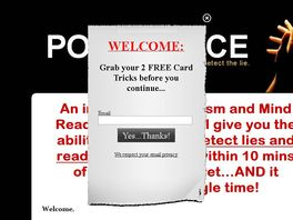 Go to: The Poker Face Effect - Card Trick