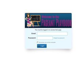 Go to: The Pageant Playbook