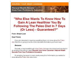 Go to: The Paleo Diet: Nourish Your Inner Caveman Ebook