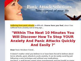 Go to: How To Overcome Anxiety And Panic Attacks.
