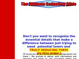 Go to: The Ultimate Seduction Bible.