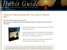 Go to: Habit Guide: How To Be Happy & Healthy