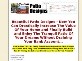Go to: Custom Patio Designs For A Beautiful Home.
