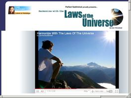Go to: Harmonize With The Laws Of The Universe