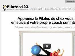 Go to: Cours De Pilates En Videos En Francais