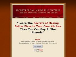 Go to: Pizza Recipe: Secrets From Inside The Pizzeria