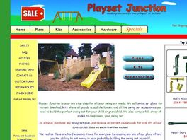 Kids playset plans. Building plans for swingsets and fort plans