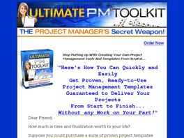 Go to: Ultimate Pm Toolkit