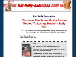Go to: Flat Belly Exercises