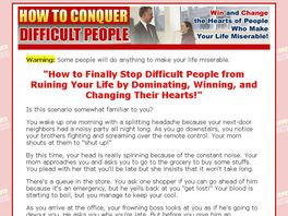 Go to: How to Conquer Difficult People