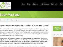 Go to: Massage For Happy Babies Dvd