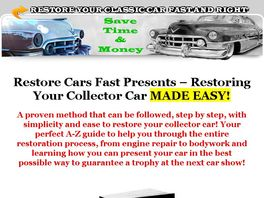 Go to: Restoring Your Collector Car