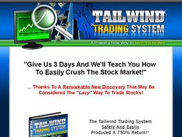 Go to: Tailwind Trading System