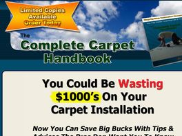 Go to: The Complete Carpet Handbook