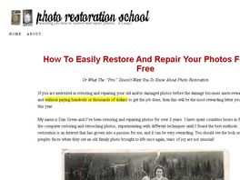 Go to: Photo Restoration Course ~5% Conv 75% Comm