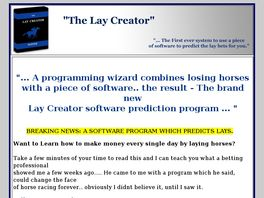 Go to: The Lay Creator.