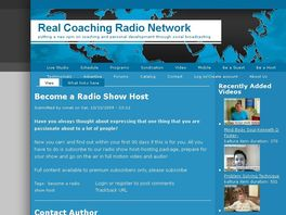 Go to: Become A Radio Show Host.