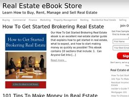 Go to: Real Estate Ebook Store