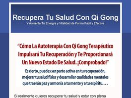 Go to: Autoterapia Con Qi Gong (o Chi Kung) Terapeutico - 50% Comision