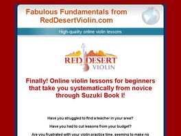 Go to: Online Violin & Fiddle Lessons