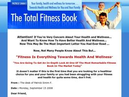 Go to: The Total Fitness Book.