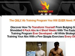 Go to: Rapid Fire Abs 6 Pack Workout