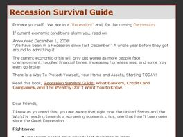 Go to: Recession Survival Guide.