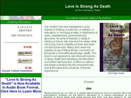 Go to: Love Is Strong As Death- By Rick & Nancy Fleeter- Audio Book