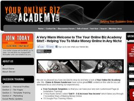 Go to: Your Onine Biz Academy Membership