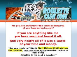 Cash cow roulette system